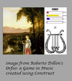 Orfeo: a Game in Music
